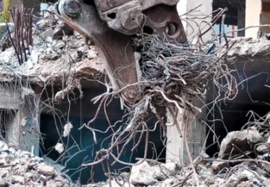 Které suroviny lze získat při demolici a co lze recyklovat?